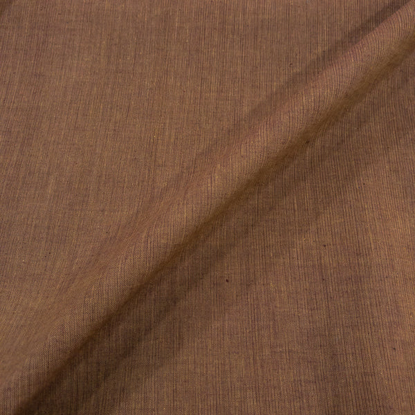 Mocha Colour South Cotton Dyed Washed Fabric