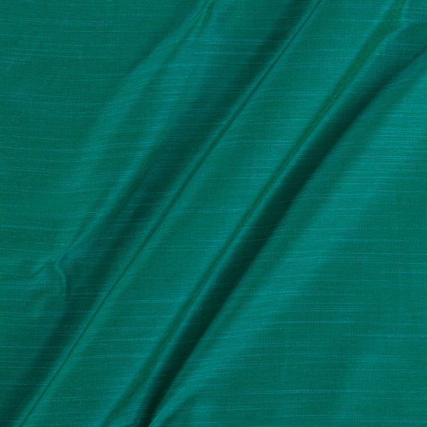 Spun Dupion (Artificial Raw Silk) Aqua Two Tone 43 Inches Width Fabric
