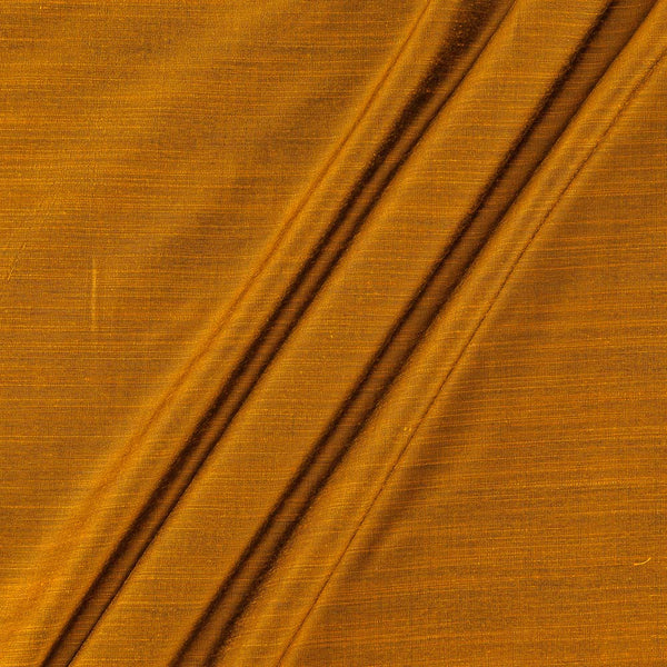 Spun Dupion (Artificial Raw Silk)Golden Orange Two Tone  43 Inches Width Fabric