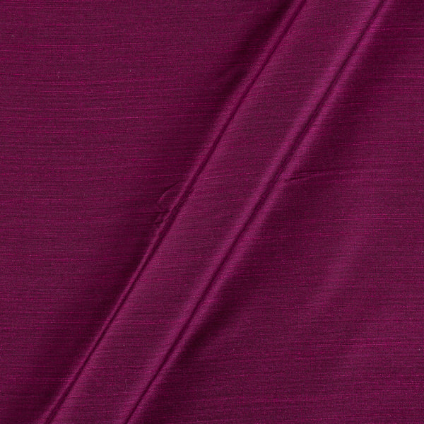 Spun Dupion (Artificial Raw Silk) Purple By Black Colour 43 inches Width Fabric