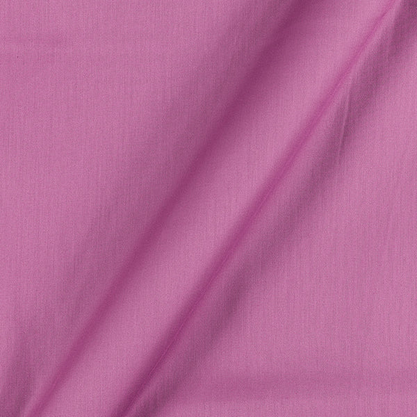 Cotton Satin Dusty Pink Colour 42 Inches Width Plain Dyed Fabric