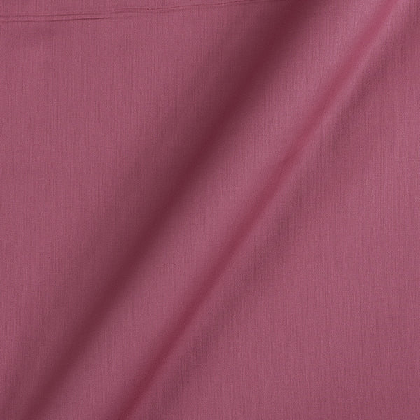 Cotton Satin Carrot Pink Colour 42 Inches Width Plain Dyed Fabric