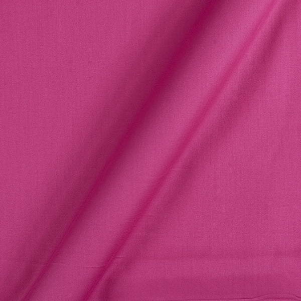 Cotton Satin Candy Pink Colour 42 Inches Width Plain Dyed Fabric