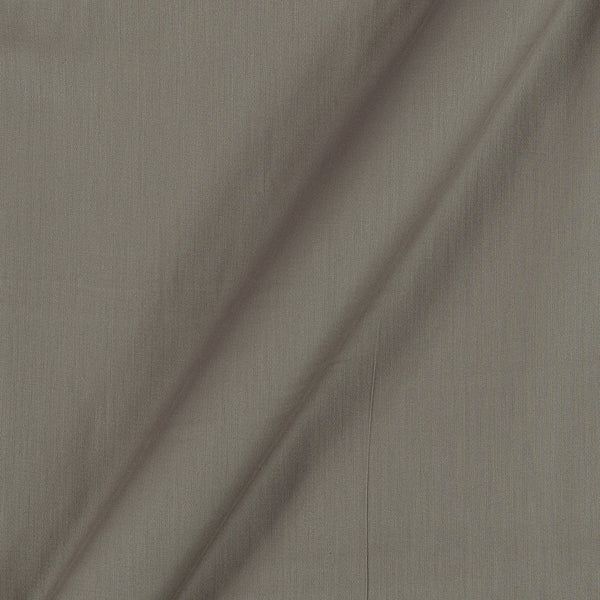 Cotton Satin Silver Grey Colour 42 Inches Width Plain Dyed Fabric