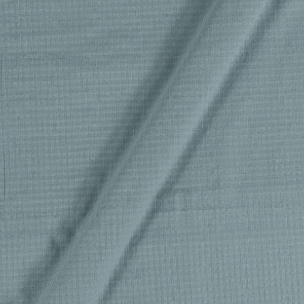 South Cotton Dove Grey Colour Striped & Check Washed 42 inches Width Fabric