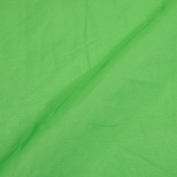 Resham Organza Pista green  Colour Semi Nylon Fabric