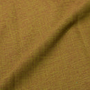 Dark Olive Plain Dyed Slub Rayon Fabric