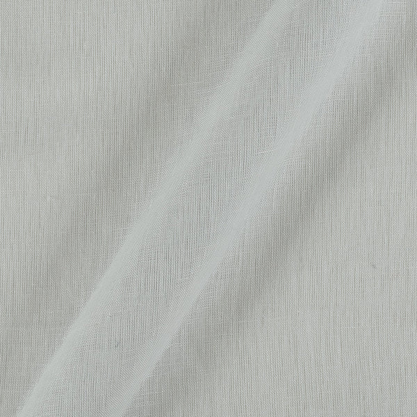 Linen x Linen Off White Colour Handloom Fabric