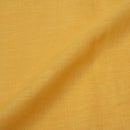 Yellow Handloom Linen x Linen Fabric