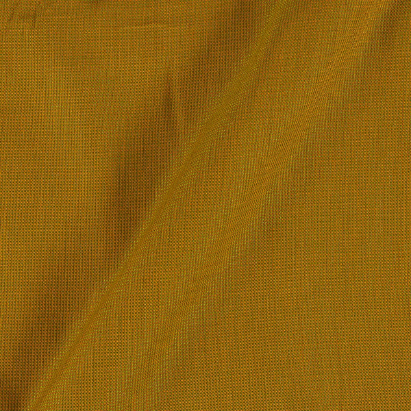 Cotton Matty Mustard Colour Dyed Fabric