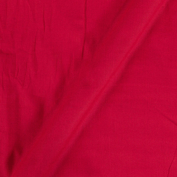 Matty Cotton Mars Red Colour 43 inches Width Dyed Fabric