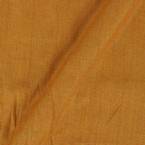 Cotton Matty Mustard Colour Dyed 43 Inches Width Fabric