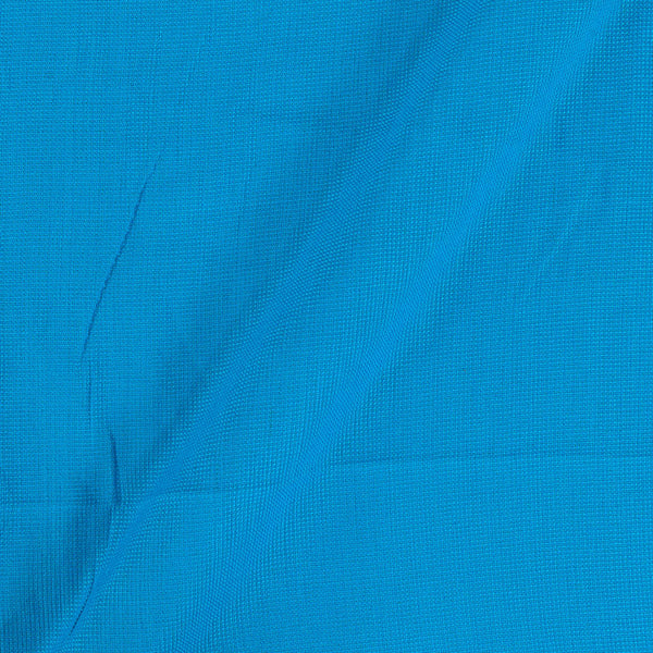 Matty Cotton Ocean Blue Colour Fabric