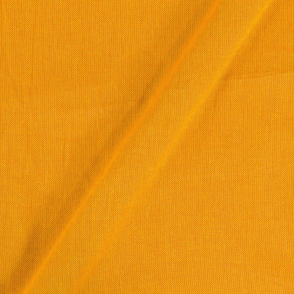 Golden Yellow Colour Dyed Matty Cotton Fabric