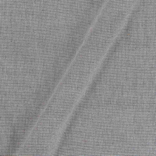 Smoke Grey Colour Dyed Matty Cotton Fabric
