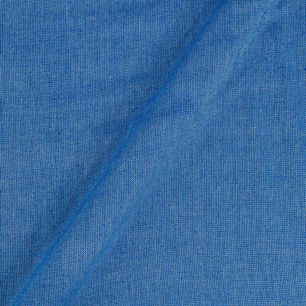 Matty Cotton Blue Colour Fabric