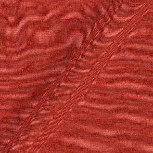 Cotton Matty Rust Two Tone Dyed 43 Inches Width Fabric