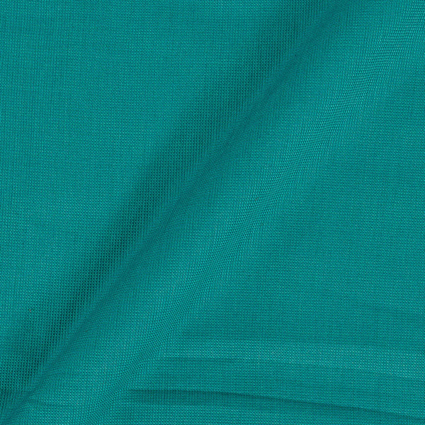 Cotton Matty Aqua Sky Colour Dyed 43 Inches Width Fabric