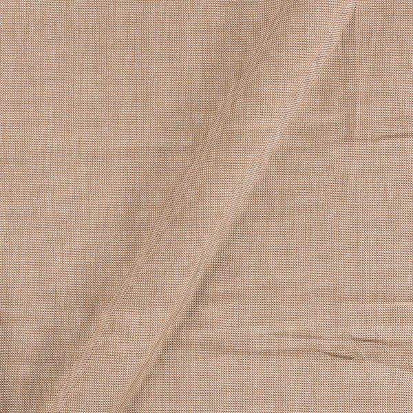 Matty Cotton Beige Colour 43 inches Width Fabric