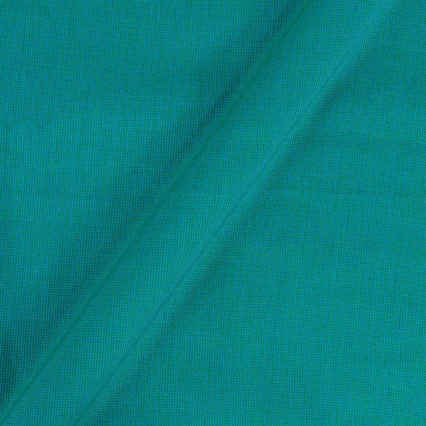 Cotton Matty Green To Sea Blue Two Tone Dyed Fabric