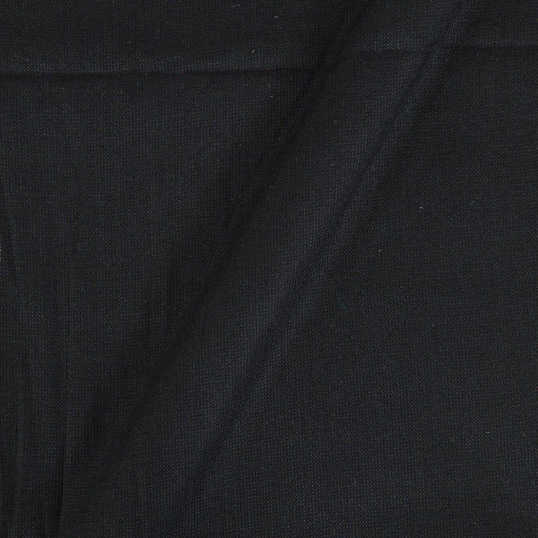 Matty Cotton Black Colour 43 inches Width Dyed Fabric