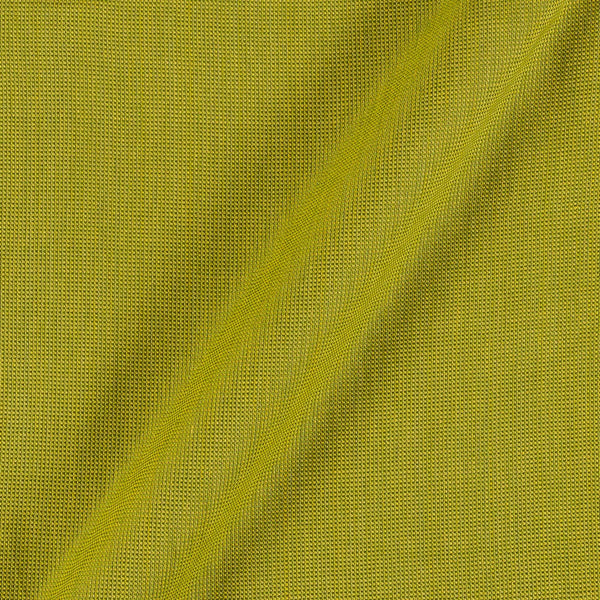 Matty Cotton Lime Green Colour 43 Inches Width Fabric