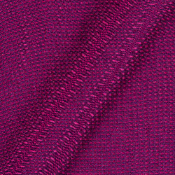 Cotton Matty Magenta Colour Dyed 43 Inches Width Fabric