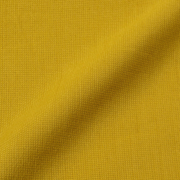 Lemon Yellow Colour Dyed Matty Cotton Fabric