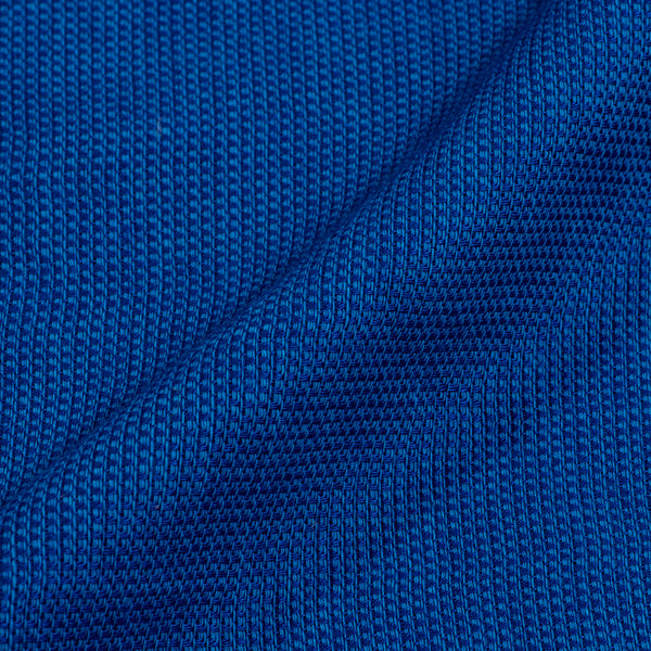 Royal Blue Colour Dyed Matty Cotton Fabric