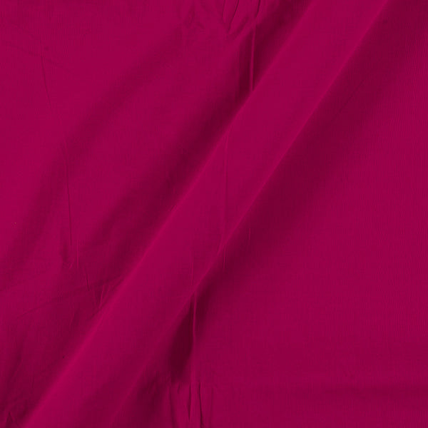 Two X Two 100% Rubia Cotton Fuchsia Colour 36 inches Width Fabric
