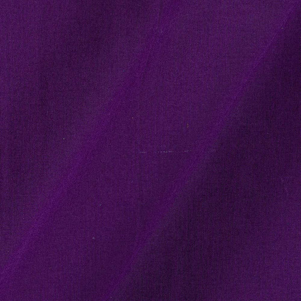 Two X Two 100% Rubia Cotton Violet Colour 36 inches Width Fabric