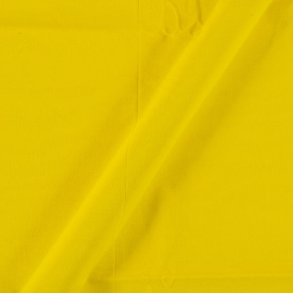 Two X Two 100% Rubia Cotton Lime Yellow Colour 36 inches Width Fabric