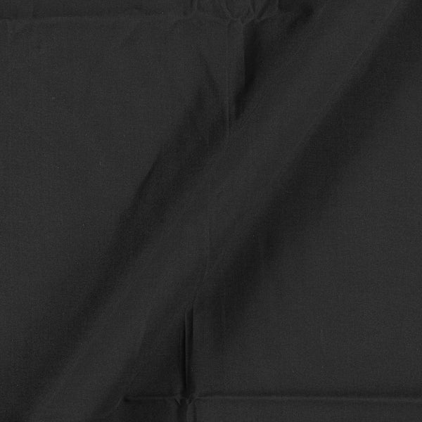 Two X Two 100% Rubia Cotton Black Colour 36 inches Width Fabric