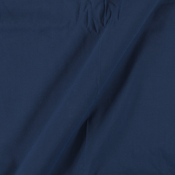Two X Two 100% Rubia Cotton Navy Blue Colour 36 inches Width Fabric