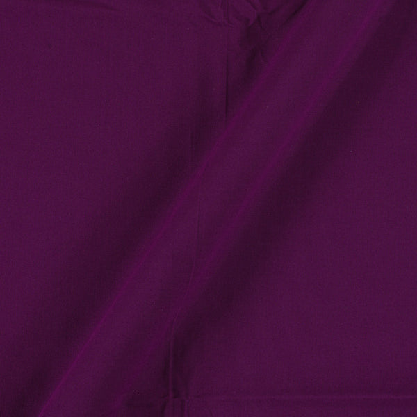Two X Two 100% Rubia Cotton Dark Purple Colour 36 inches Width Fabric