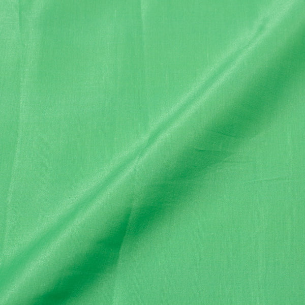 Pista Green Colour Poly Linen Satin Fabric