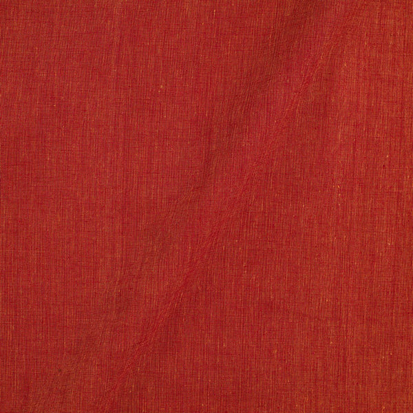 Pick and Pick South Cotton Brick Colour 42 inches Width Plain Dyed Fabric