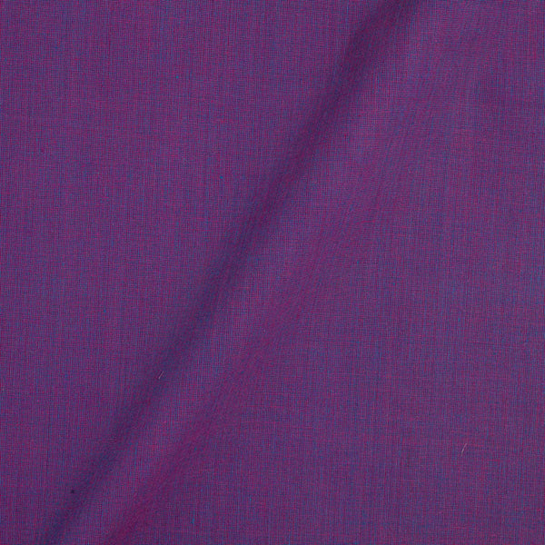 Pick and Pick South Cotton Purple Two Tone 42 inches Width Plain Dyed Fabric