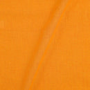 Pick and Pick South Cotton Yellow Colour 42 inches Width Plain Dyed Fabric