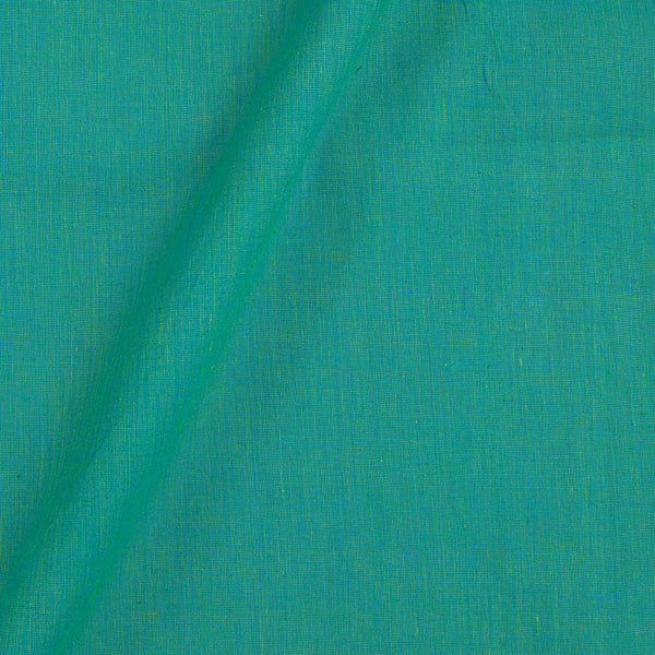 Pick and Pick South Cotton Blue To Yellow Mix Tone 42 inches Width Plain Dyed Fabric