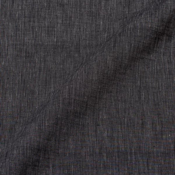 Steel Grey Colour Plain Dyed Pick & Pick South Cotton Fabric