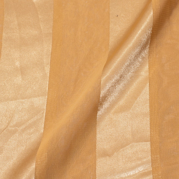 Cream Colour Sparkling Plain Dyed Polyester Fabric