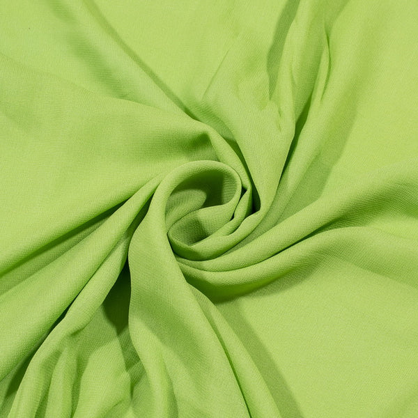 Pista Green Colour Dyed Viscose Georgette Fabric