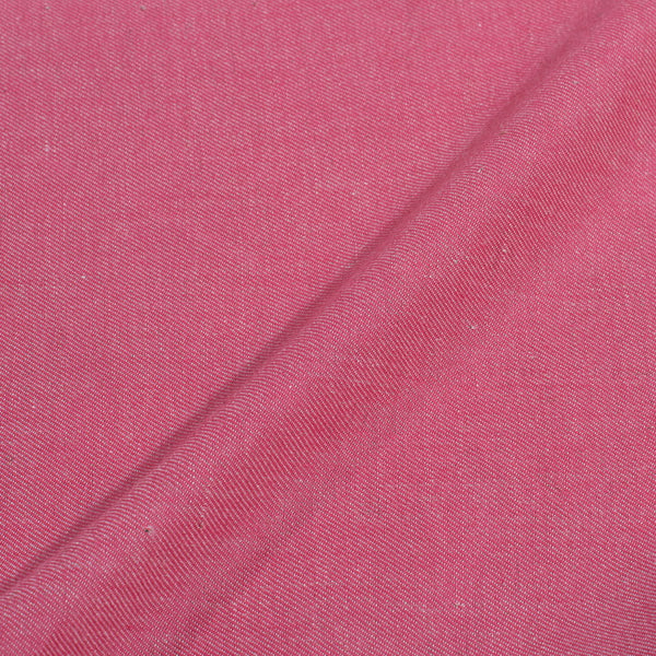 Twill Cotton Candy Pink Colour Fabric