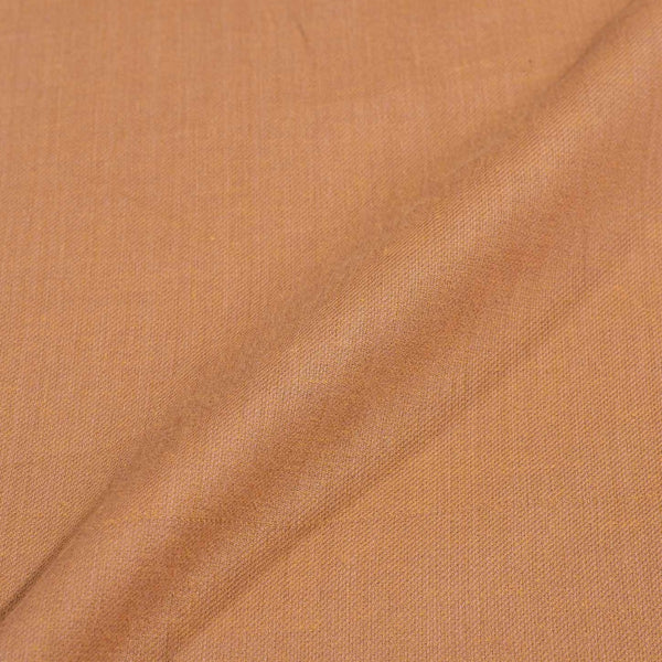 Twill Cotton Butternut Colour Fabric