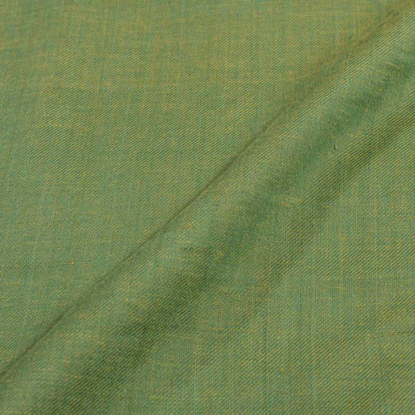 Twill Cotton Green Yellow Mix Tone Fabric