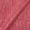 Bhagalpur Jute Type Cotton Carrot Pink Colour Plain Dyed Fabric