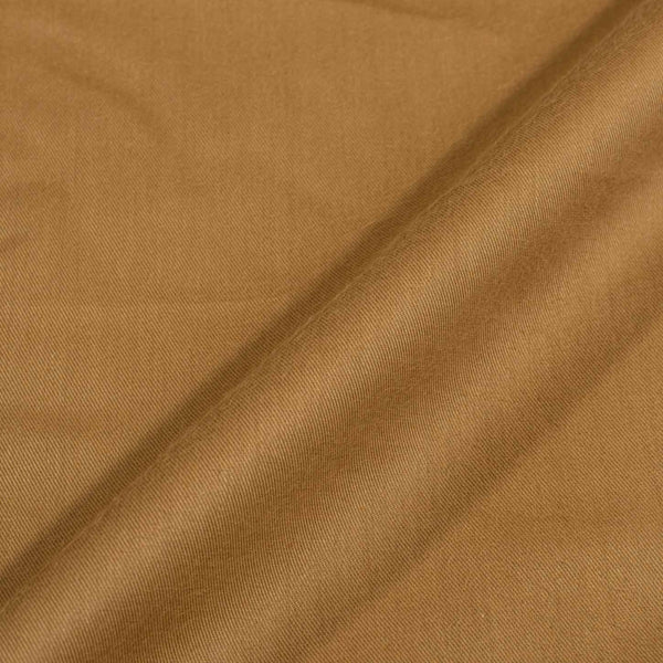 Sand Gold Colour Plain Tencel x Tencel Cotton Fabric