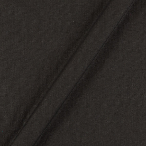 Rayon Lycra Black Colour 43 inches Width Fabric