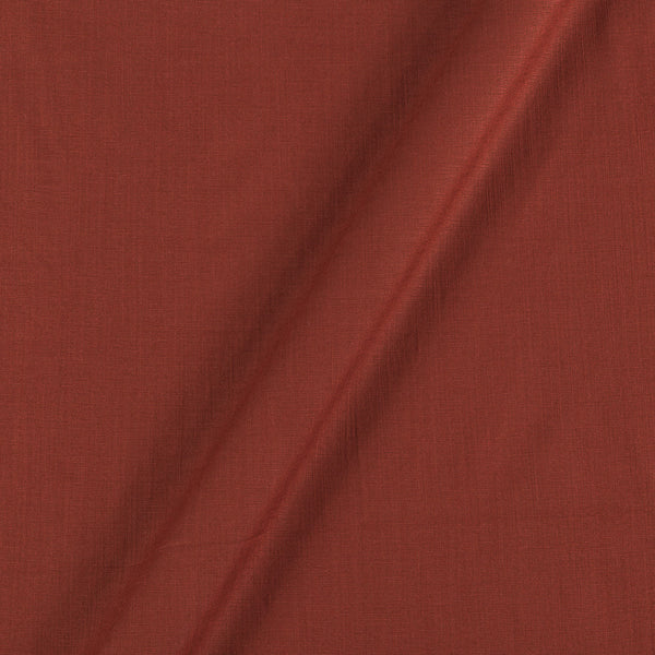Rayon Lycra Rust Colour 46 inches Width Fabric
